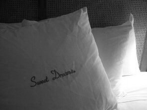 Sweet Dreams R Pillow (by Leah Buechley)